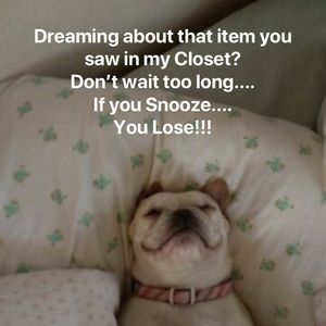 Other - Don't Snooze! 😴 🛌 💤